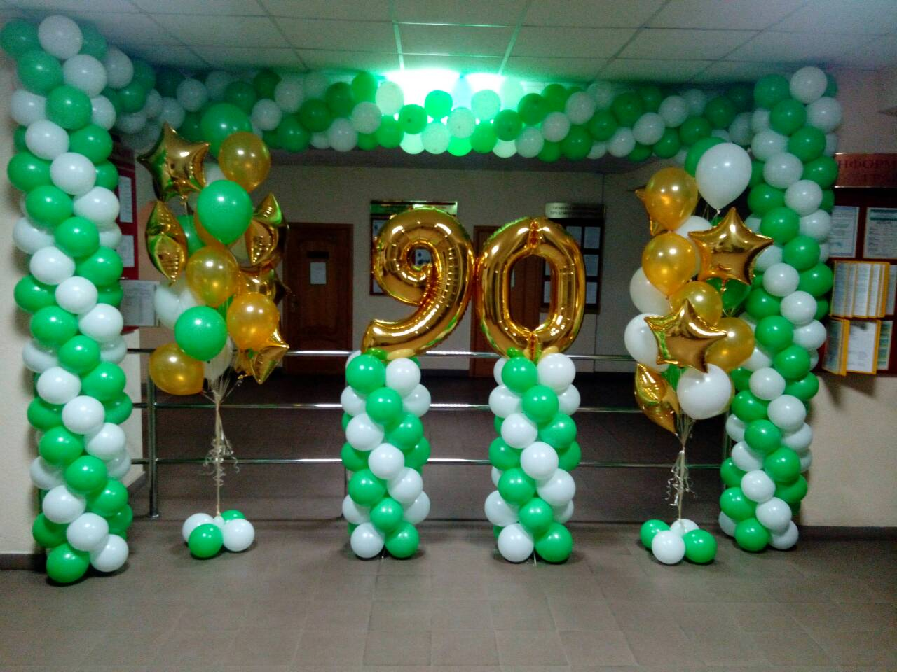 День рождения, праздничные шары-shargel.by