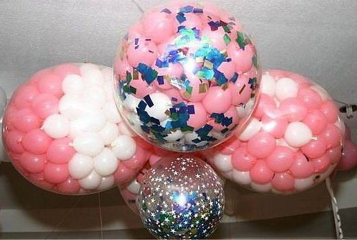 Как сделать маленький воздушный шар