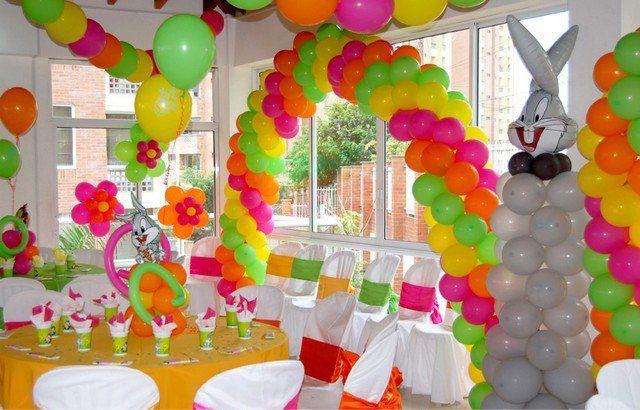 Украшение зала к детскому празднику своими руками