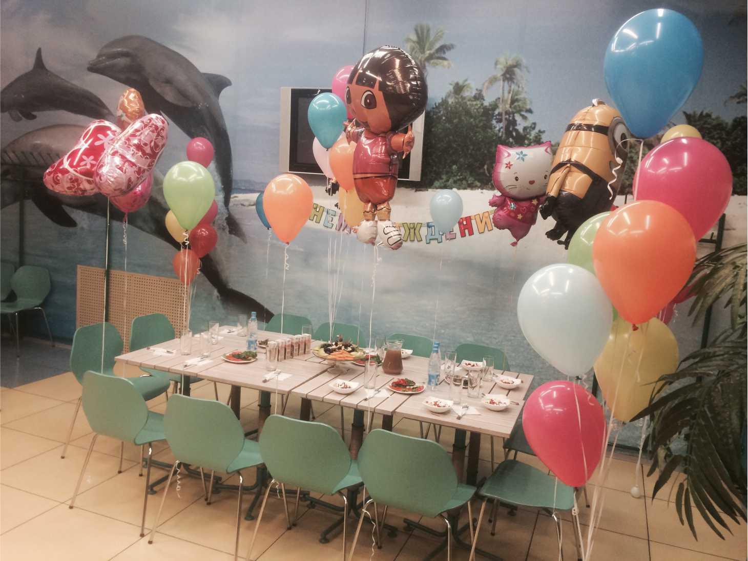 Детский праздник shargel.by
