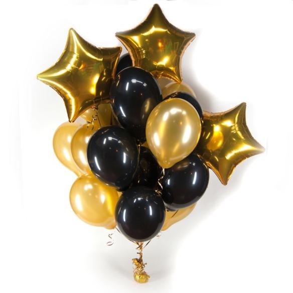 "Сэт ""С черными шарами""-shargel.by"