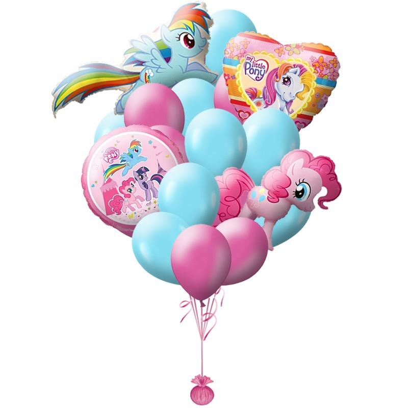 Сэт Пони Пинки пай и радуга-shargel.by