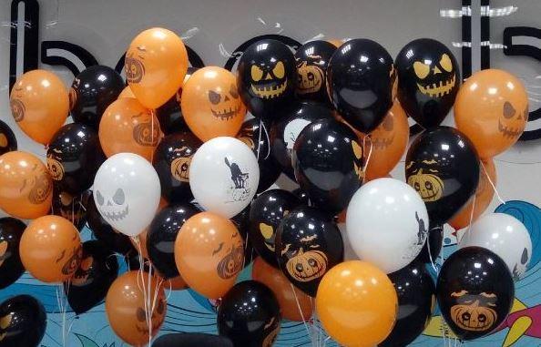 Шары на Хэллоуин shargel.by