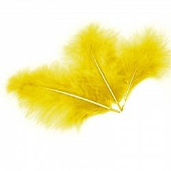 Перья желтые для наполнения шара