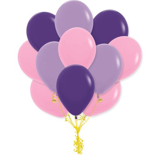 Сэт Бело-фиолетово-розовая гамма-shargel.by
