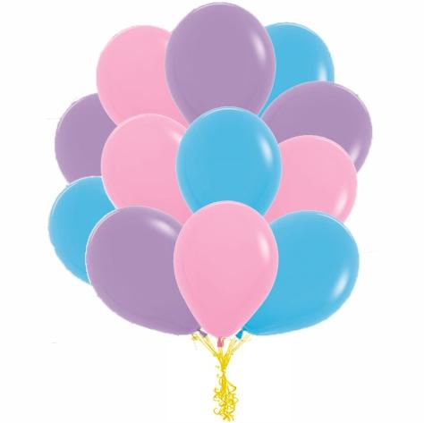 Сэт Фиолетово-розово-голубая гамма shargel.by