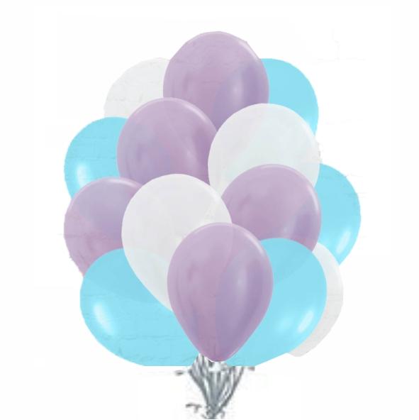"Сэт ""Бело-фиолетово-голубая гамма"" shargel.by"