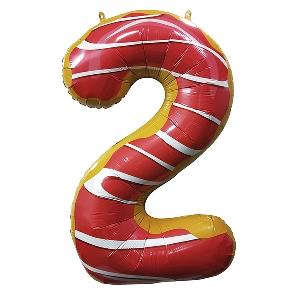 Цифра 2 Пончик shargel.by