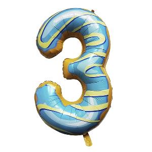 Цифра 3 Пончик shargel.by