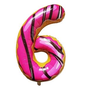 Цифра 6 Пончик shargel.by
