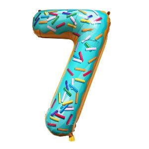 Цифра 7 Пончик shargel.by