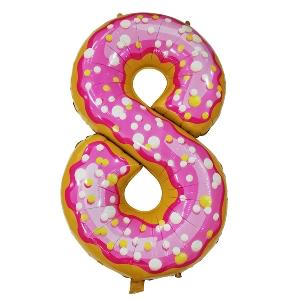 Цифра 8 Пончик shargel.by