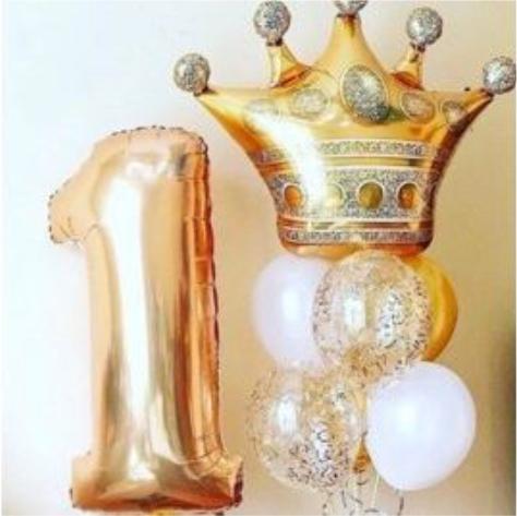 "Сэт ""1 год, Золотая корона"" shargel.by"