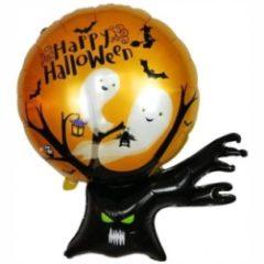 Фольгированный шар Дерево с привидениями shargel.by