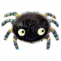 Фольгированный шар Паук черный shargel.by
