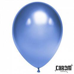 шар Синий Хром